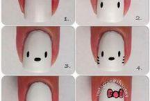 Νυχάκια Hello Kitty!!!