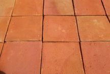 Terracotta Floor Tiles / Handmade tiles to bring warmth and authenticity to your home and garden.