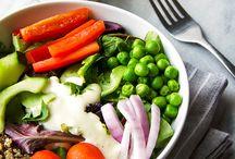 Raw-some Salads/Dressings