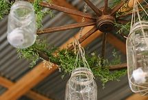 Mason Jar Wedding Ideas / #masonjar #wedding #vintage #rustic