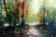 Watercolours from other Artists / Watercolours by other artists - mainly the professionals!