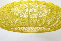 Crochet lightshade