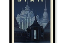 Vintage Posters / Beautiful vintage cigarette and travel posters.