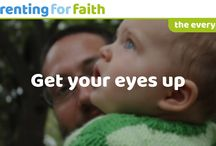 The everyday / Thoughts, reflections and questions about the everyday experience of Parenting for Faith.