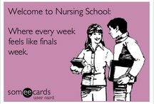 Nursing school.... Kill me / by Amber Wynne