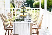 Porch life / Outdoor spaces