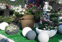 Donica do ogrodu na taras patio 57 cm średnicy