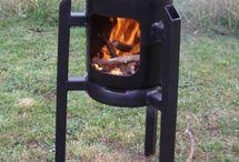Rocket oven / Zelf made
