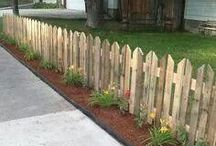 fences and pallets