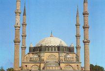 Ottoman Empire - History of Architecture / A - Early Ottoman / Bursa style 1299 -1501 .  .  .   B - Classic period 1501 - 1703,  .   .   .   .                                MİMAR SİNAN (1489-1588)  his works 1536 - 1571.. . C - Tulip age 1703 - 1757 . .  . D - Barok period 1757 - 1854 .  .  . E - Empire 1854 - 1876 .  .    .    . F - Tanzimat to Republik period 1876 - 1922 .