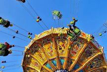Amusement ride at Oktoberfest in Munich, Germany #HeathrowGatwickCars.com
