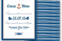 Marine/Sea/Морская тема / Everything you need for a sea inspired wedding!
