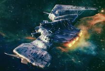 корабли космос