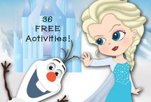 Learning activities: Frozen