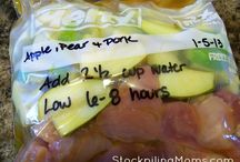 Food-Freezer Bag Meals