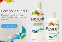 RESTORE FOR GUT HEALTH / #GUT #HEALTH  Tighten your loose junction with RESTORE.  Better gut health.