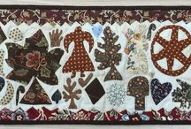 Carolyn Konig Designs Quilts / Antique, Medallion, Frame, English, Reproduction Style Quilt Designs.