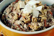 Recipes //overnight oats