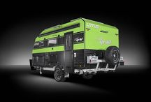 Lotus Carvans / The Lotus range include the Off Grid, Trooper, Freeland and Tremor