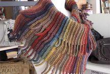 CACHECOIS E MANTÔS cowl scarf