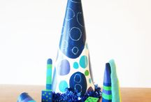 New Year's Eve / New Year's Day Crafts / by KinderArt.com