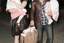 Keith and Family at Airport