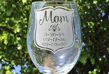Mother's Day Gift Ideas / Every day should be Mother's Day! Check out our selection of memorable glassware (and other fun items) that might just bring her to tears...