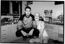 Michael Alig with DJ Keoki