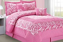 Zebra Print 6 Piece Comforter Sets / All Zebra print comforter sets are retro, beautiful, and fun. Each one is made of super soft and durable microfiber and stitched together clam style so the filling never moves. Elegant styled designed and very affordable only at Home Soft Things.