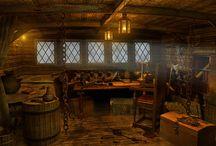 pirate cabin