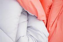 Fusion Coral/Glacier Gray Reversible Comforter - Twin XL / Fusion Coral/Glacier Gray Reversible Comforter - Twin XL