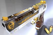 Desert Eagle 50 cal. / 50 caliber  / by Fred Murphy
