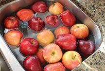Lavar frutas e verduras