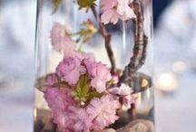 centros de mesas de flores
