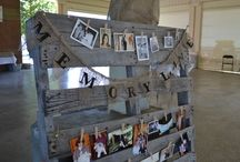 Abby Country Theme Graduation / All ideas for Abby's graduation reception. Simply with a little country chic added! / by Jennifer McDonald