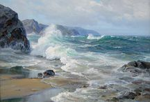 Seascapes paintings/         Mare dipinto