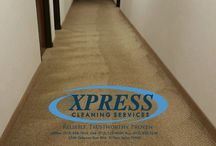 CARPET CLEANING / XPRESS CS has extensive experience in janitorial services, carpet cleaning, floor care restoration and maintenance.