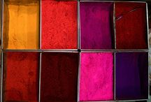SKILL Dye, colour, pigment / worldly source for imagination