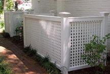 Fences and screens