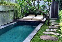 Bazény, voda v zahrade