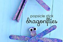 Popsicle Stick Craft