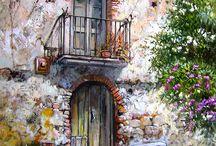 akrilik boya resimleri