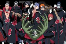 Akatsuki / Akatsuki - the villain organization seeking and extracting tail demons. But besides of that it is a group of interesting people with interesting life stories. My most favourite are Sasori, Itachi and Deidara. You certainly noticed that Itachi and Sasori arent here that´s why they both have their own one ;)