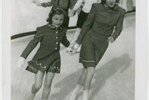Vintage skating