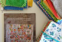 Green Tea and Sweet Beans quilt