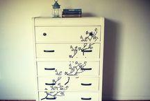 Painted Furniture-Dresser /   / by Christina Deras