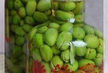 Kırma zeytin yapımı