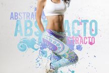 ABSTRACT / Active Wear, leggins, licra, #personalandcool, Estilo de vida con mucho color #personalandco