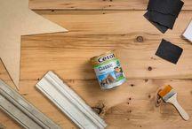 DIY Estrella con maderas antiguas