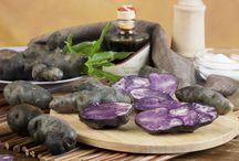 Patate viola Lady Viola / Le nostre patate viola a marchio Lady Viola dell'Alta Tuscia. Prodotte e confezionate dalla nostra azienda agricola Perle della Tuscia di Grotte di Castro